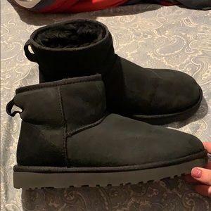 Black Ugg Classic Mini II Women's size 10